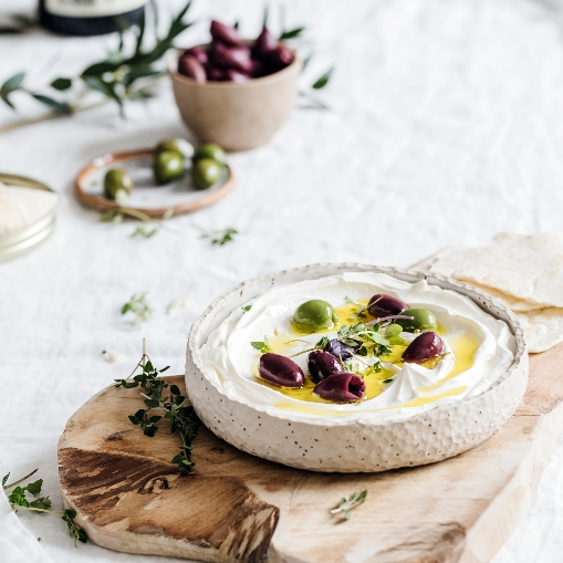 Queso labneh